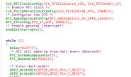 Stm8l系列低功耗halt模式的自动唤醒