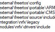 nrf5 SDK普通例子加上freertos
