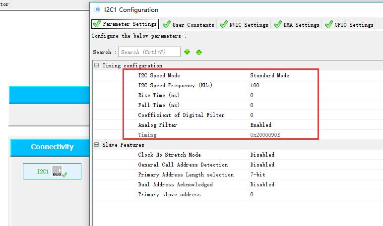 STM32 HAL  I2c读写24c02测试