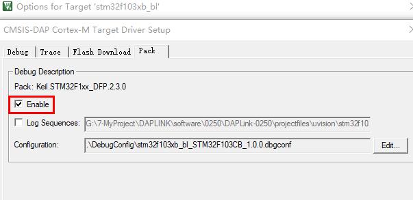 keil下stm32工程直接烧入GD或其他兼容单片机