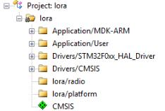 LORA-B1 官方LORA驱动移植